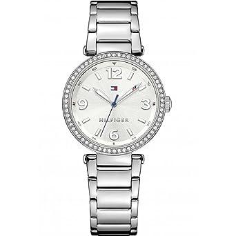 Tommy Hilfiger mujer-reloj analógico de cuarzo de acero inoxidable 1781589: Amazon.es: Relojes