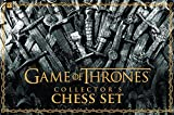 USAOPOLY Game of Thrones Collector's Chess Set | Chess Game Featuring Game of Thrones Characters
