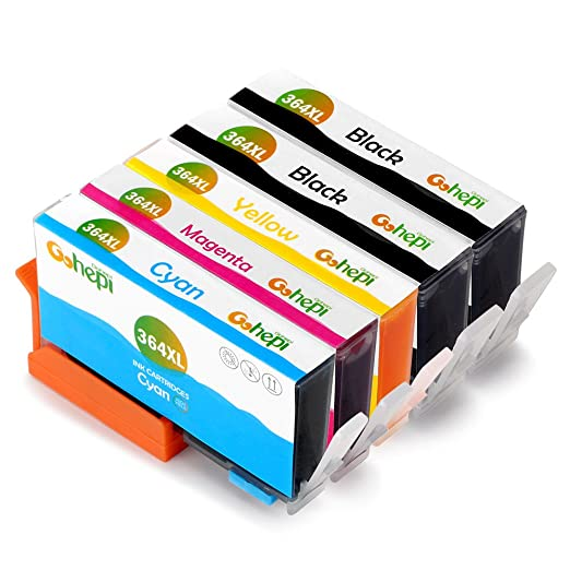 646 opinioni per Gohepi 364XL Compatibile per Cartucce HP 364XL 364, 2 Nero/Ciano/Magenta/Giallo