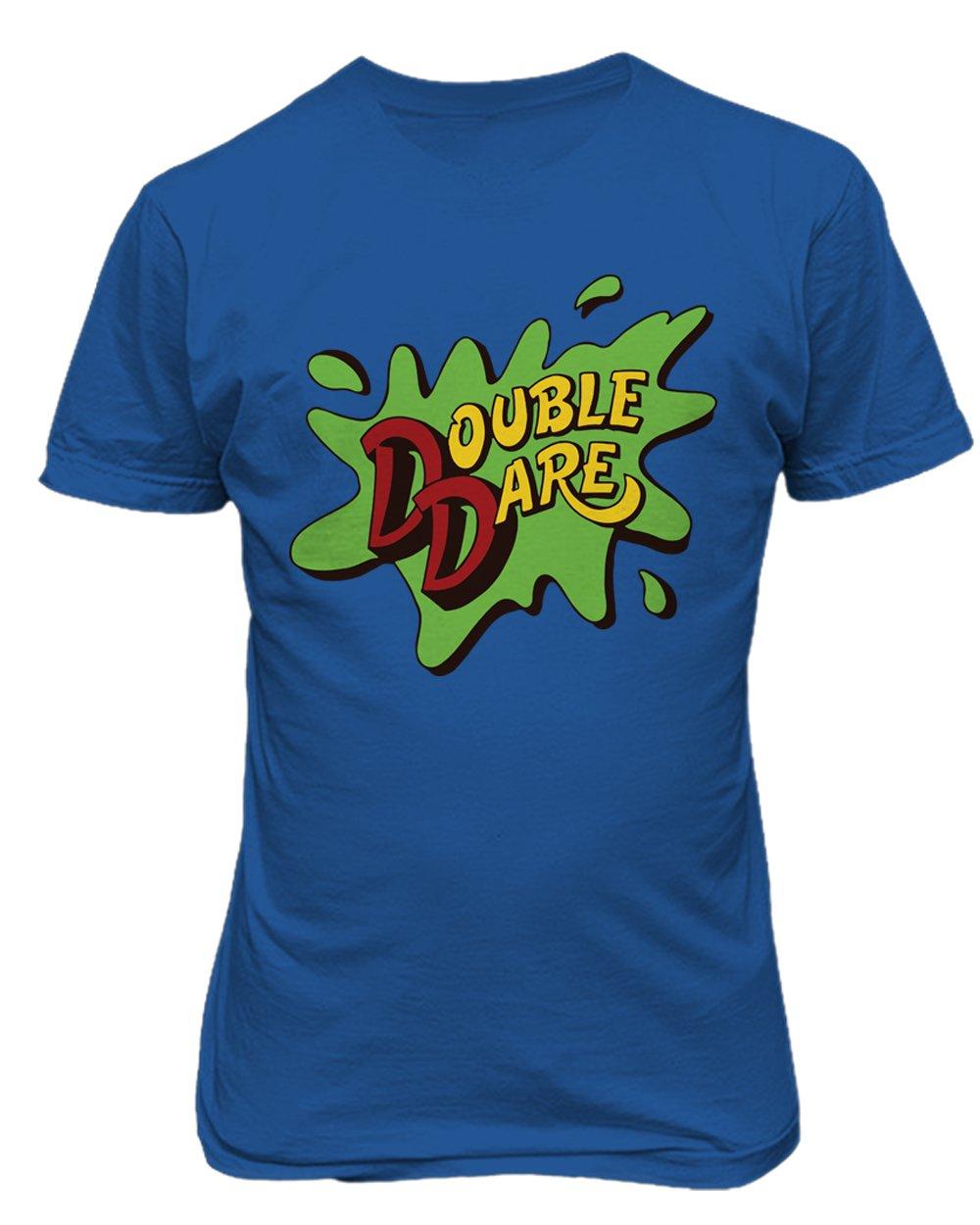 古典 Double Dare Double ロイヤル Tシャツ Adult Dare Medium ロイヤル B076CS8MQM, アイエスマート:0be49167 --- narvafouette.eu