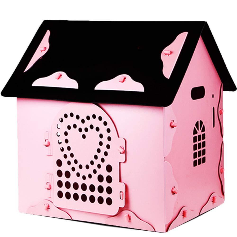 Medium X&MX Dog House Pet Woven Dog House Seasons Universal Pet Supplies Pet Nest Indoor House,M