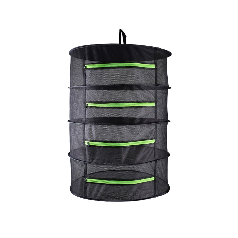 Yichang Drying Rack For Herb Hanging Dry Net Collapsible Hanging Dryer with zipper Carrying Case