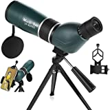 MaxUSee 20-60x60 Zoom HD Spotting Scope with Tripod