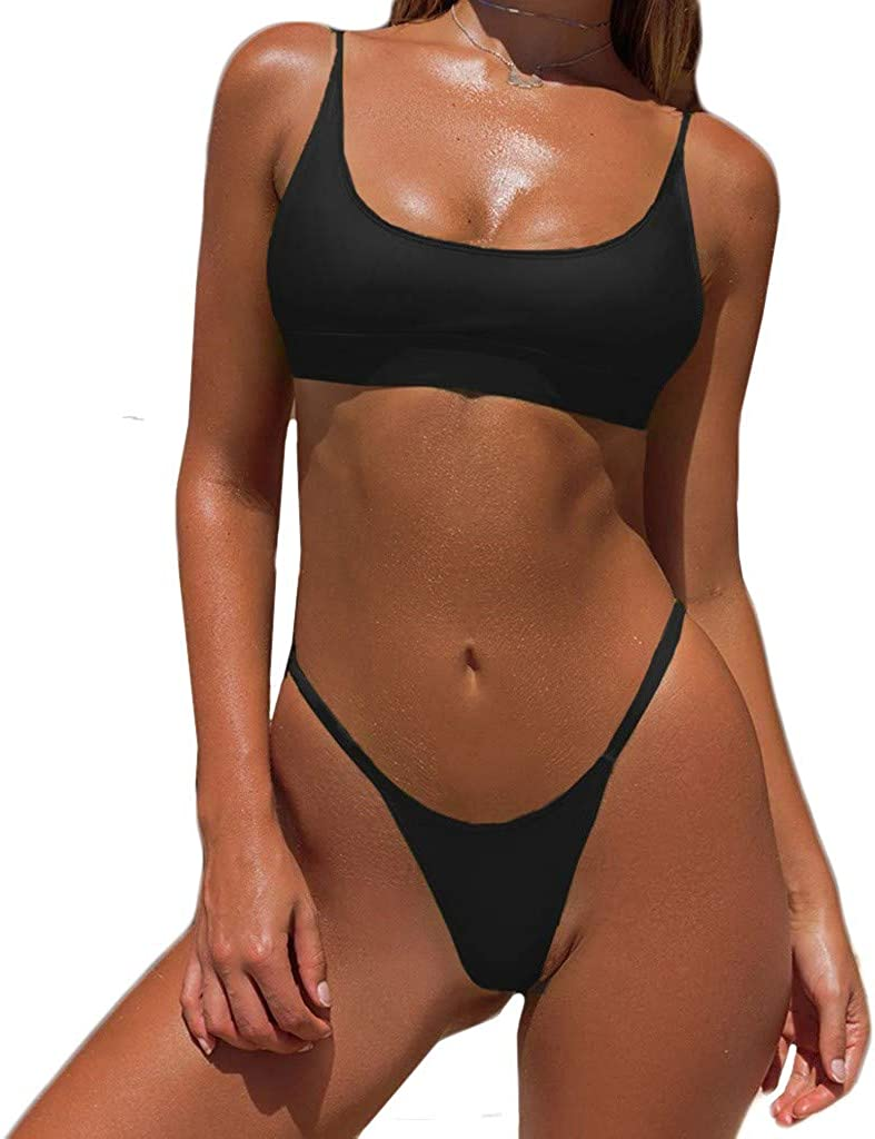 AMOUSTORE Lingerie for Women, Fashion Women's Sexy Two-Piece Erotic Lingerie Sexy Bra and Thong Underwear Suit