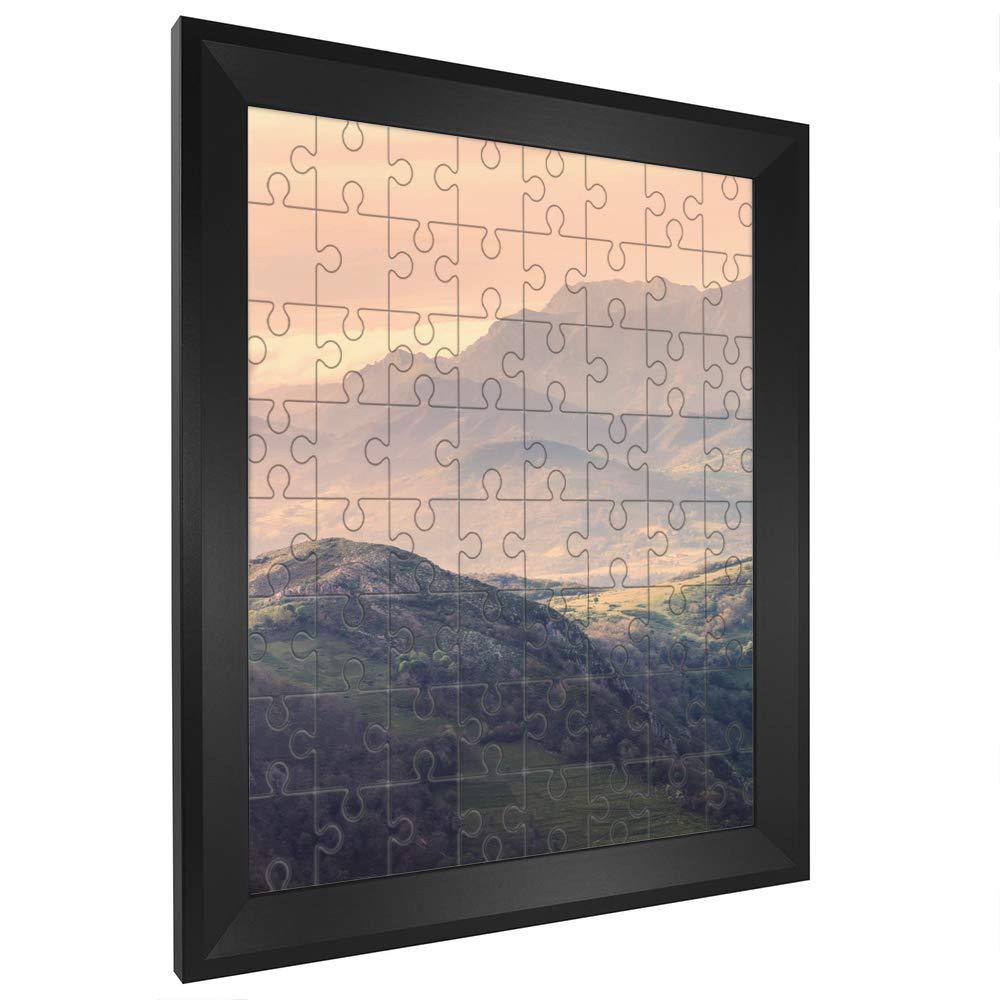 Puzzlerahmen RIA 80x121cm Schwarz (matt) für ca. 2000-3000 Teile