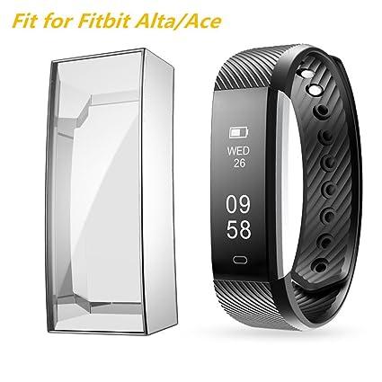 Amazon.com: Funda para Fitbit Alta HR/Ace, Belyoung suave ...