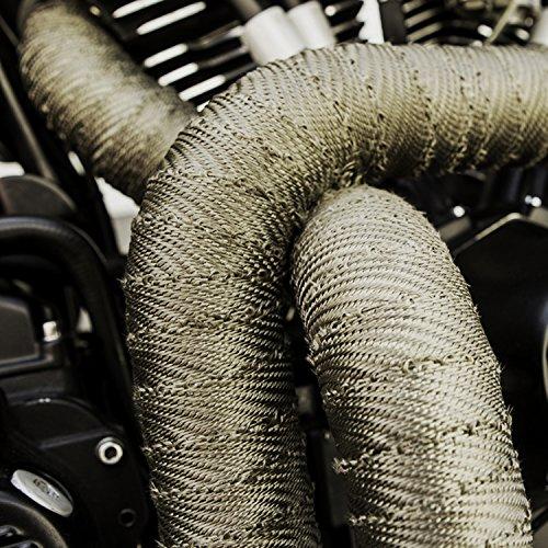 Review Duramake Titanium Exhaust Wrap