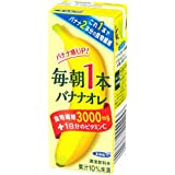 エルビー 毎朝1本 バナナオレ 200ml×24本