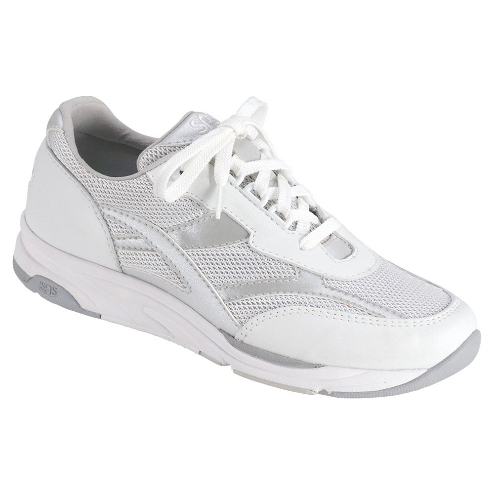 SAS Women's Tour Mesh Comfort Walking - Sneakers B01MG1U7NX 6.5 W - Walking Wide (C) US|Silver f30837