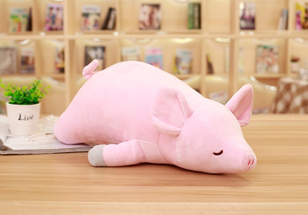 Super Soft Cuddly Figures for Child Kids Girl Gift Party Favors 20 VSFNDB Pig Plush Toy 20 Inch Stuffed Animal Hugging Piggy Throw Pillow Cushion Stuff Dolls