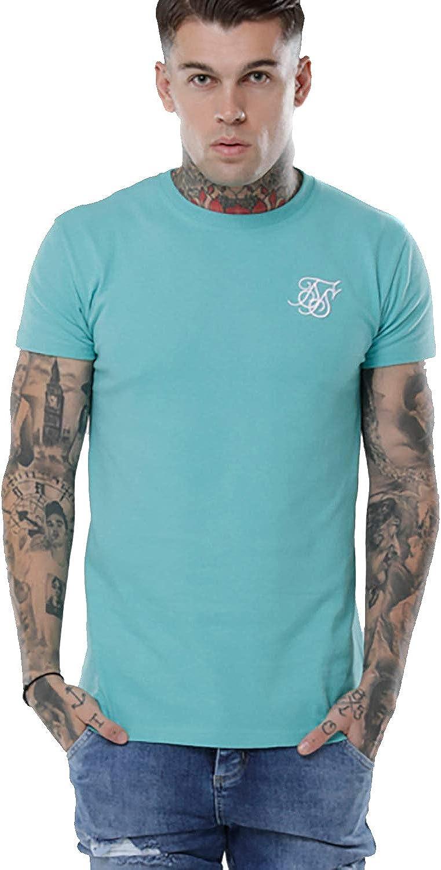 Sik Silk Camiseta Turquesa Hombre Algodon (S): Amazon.es: Ropa y accesorios