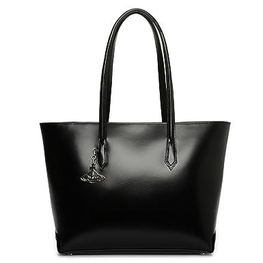 038b9a7606c Vivienne Westwood Sarah Large Shopper Leather Bag In Black: Amazon.co.uk:  Clothing