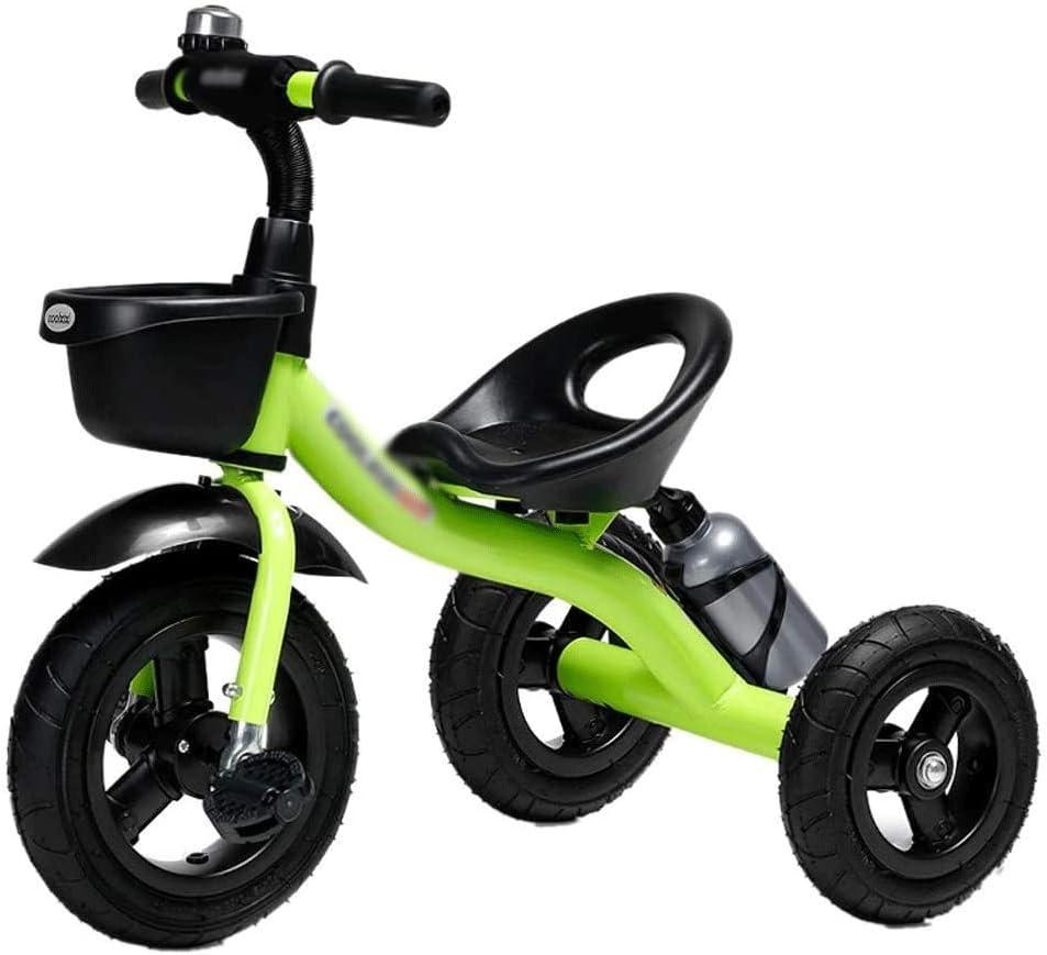 ZQY Triciclo Y Muchacha Pedal de excursión al Aire Libre de los niños de Bicicletas 1-5 años Los niños de los niños de los niños Moda Triciclo de Bicicletas de Coches de Juguete (Color : B)