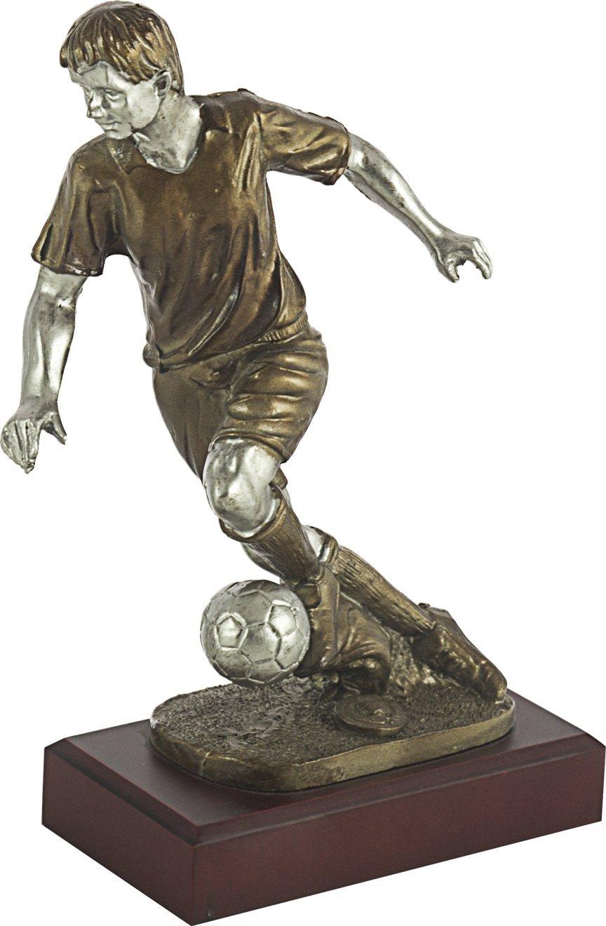 Art-Trophies TP396 Trofeo Deportivo Jugador Fútbol, Dorado, 25 cm 7396-2