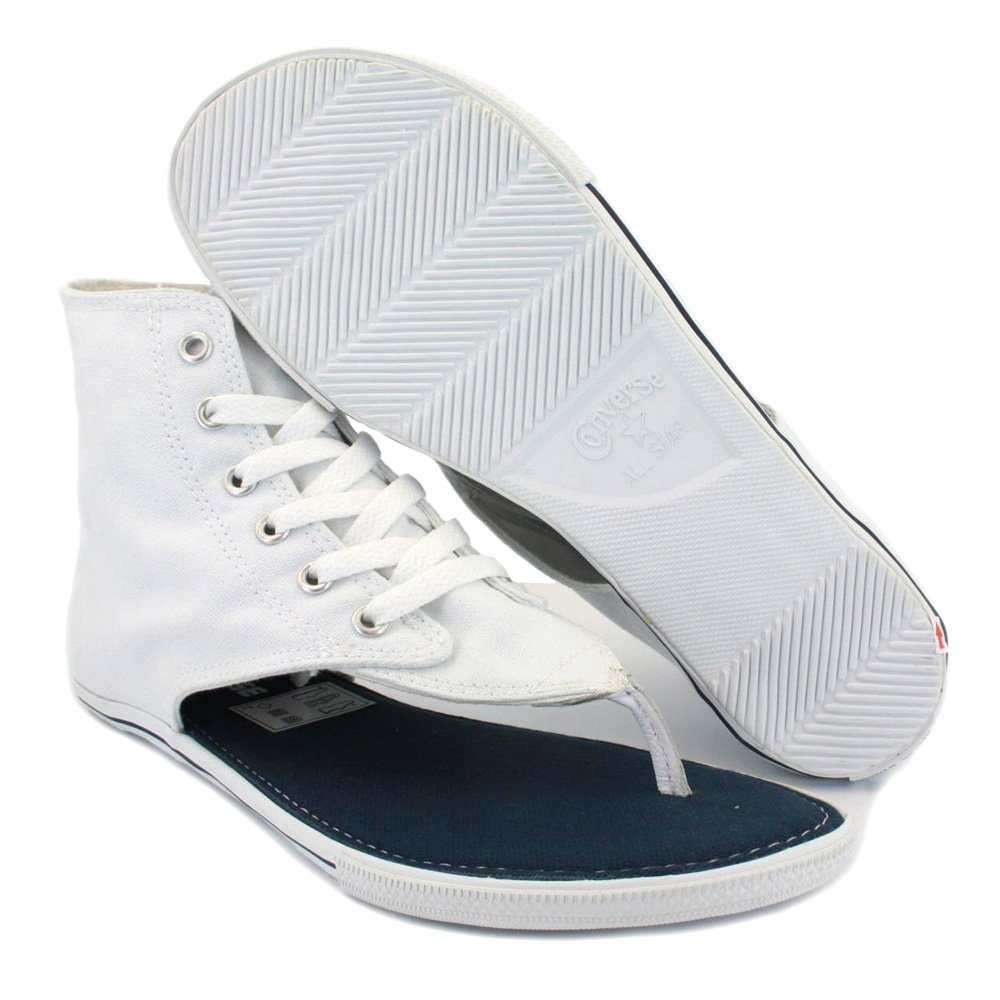 f5fae66c5291 Converse All Star CT Thong Sandal Hi 522256 Womens Laced Canvas Sandals  White - 7  Amazon.co.uk  Shoes   Bags