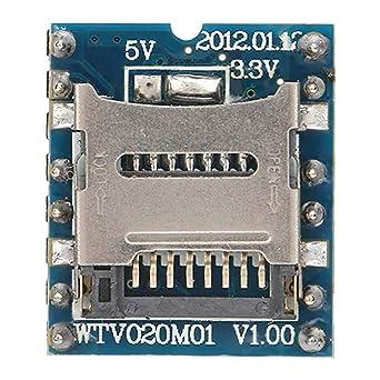 WTV020-SD Mini módulo de sonido MP3 para tarjeta de memoria ...