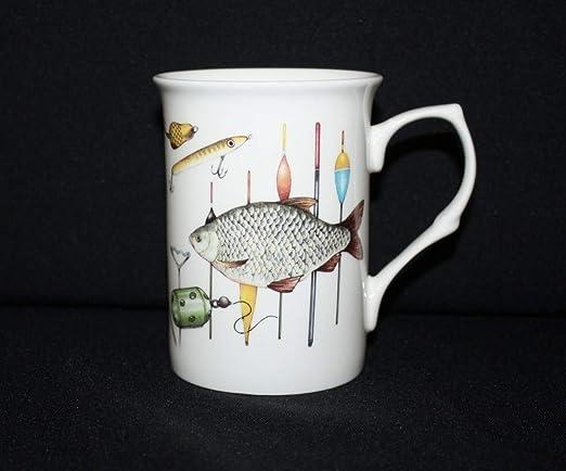 Taza de porcelana apta para lavavajillas y microondas ...