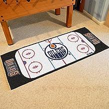 NHL Edmonton Oilers Hockey Rink Accent Runner Rug