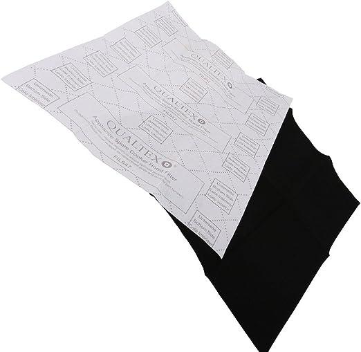 Universel Hotte filtre graisse en mousse 57 cm x 47 cm et Charbon 57 cm x 47 cm
