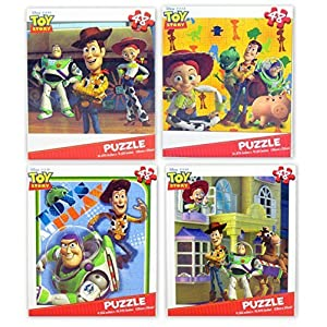 Disney Pixar Toy Story Children's Puzzles – Variety Pack (4 Total)