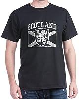 CafePress - Scotland - 100% Cotton T-Shirt, Crew Neck, Soft and Comfortable Classic Tee with Unique Design