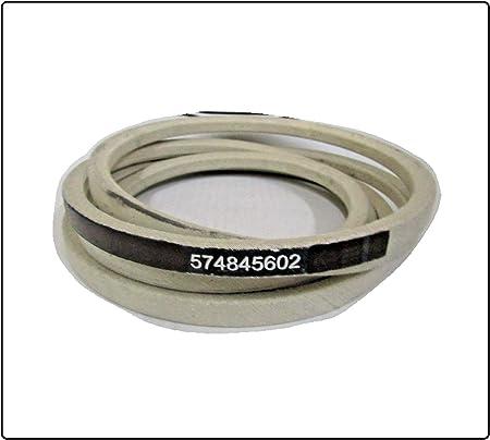 Caltric 574845602 Deck Belt Compatible with Husqvarna Gt48Xls Gth26V48Ls Ts348 Yt48Xls 5//8 X 134