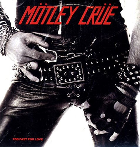 Vinilo : Motley Crue - Too Fast for Love (Clear Vinyl)