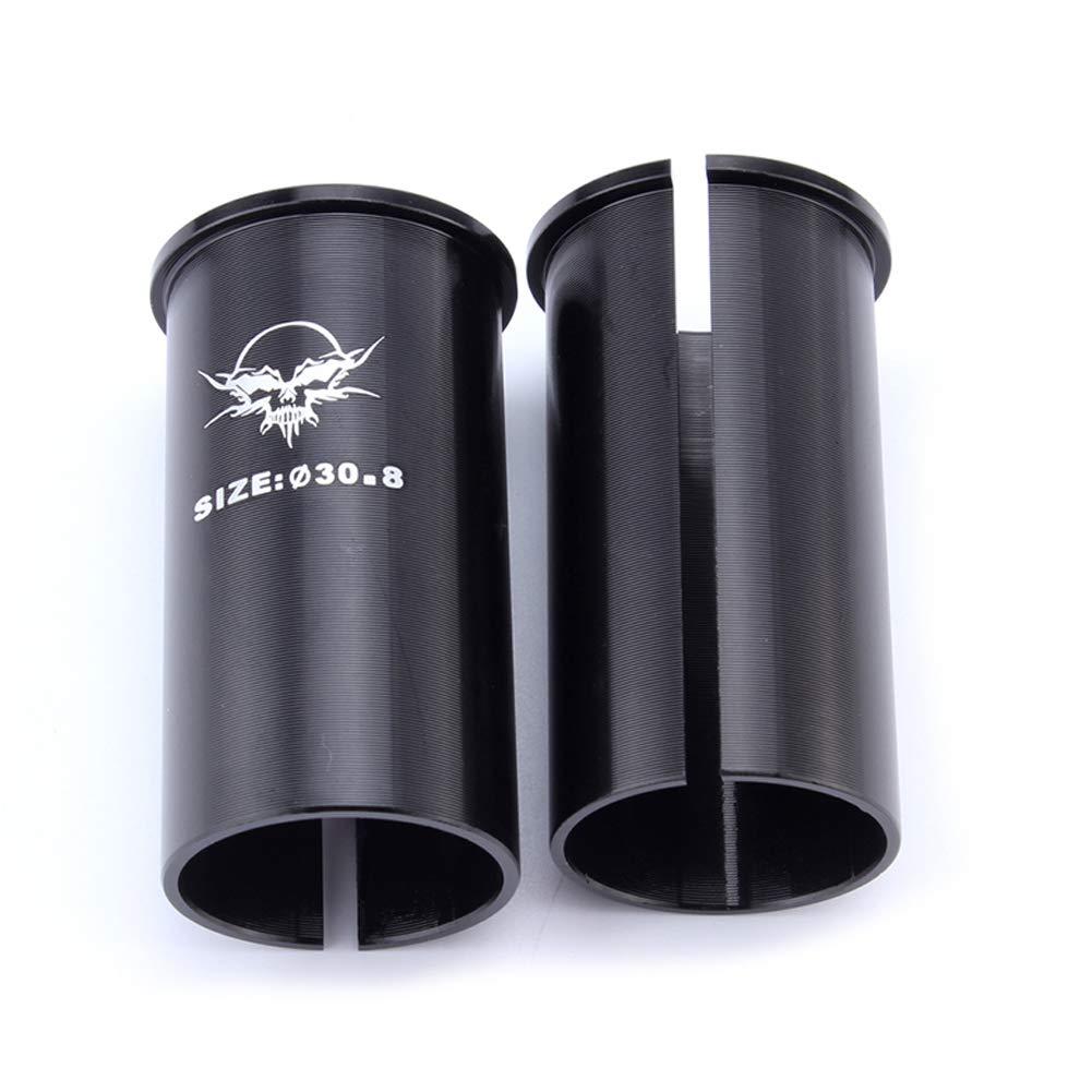 - Negro Bicicleta Tija Sill/ín Cu/ña C/ámara Manga Adaptador 27.2mm To 30.4mm//30.8mm//31.6mm 30.4mmBlack 30.4mm