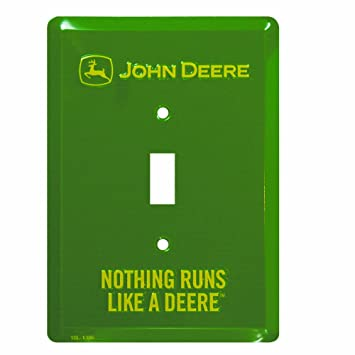 John Deere Light Switch Plate