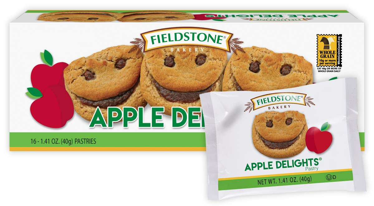 Fieldstone Bakery Apple Delights Wrapped Cookies, Vanilla