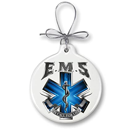 Christmas Ornaments – Paramedic Gifts for Men or Women – EMT Ornaments with  a Silver Ribbon - Amazon.com: Christmas Ornaments €� Paramedic Gifts For Men Or Women