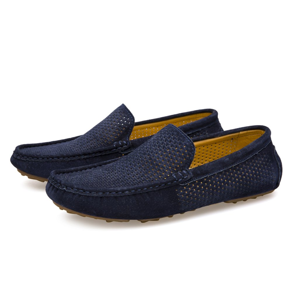 Breathable Comfortable Platform Loafers Slip On Toe Shoes Casual Fashionable Look Men Women Nylon PU Materials