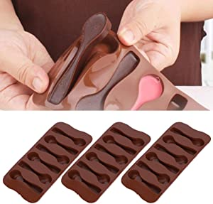 Hoseten Cake Mold, Durable Non‑Toxic Baking Mold, Kitchen for Making Cakes for Candies Chocolate