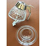 ANGELS--Honey and Syrup Dispenser SPACE 200ML Honey Dispenser Jar Container Acryl... New