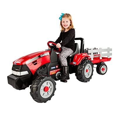 Peg Perego Case IH Tractor and Trailer: Toys & Games