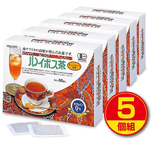 Precept rooibos tea 60 bags (organic JAS certified) [5-tuple-300 follicles] boiled tea bag type (during the limited time Amazake gift) Organic Rooibos) by Puriseputo