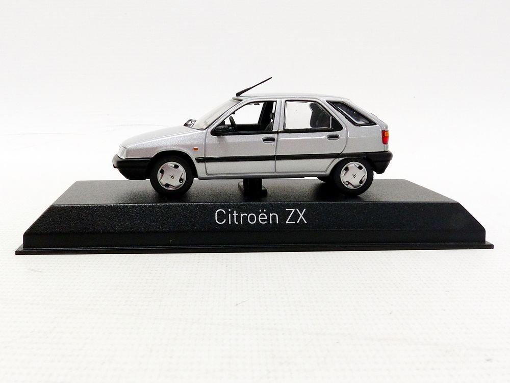 Norev–ZX 1991Citroen vehículo en miniatura, 154103, Plata, (escala 1/43 NV154103