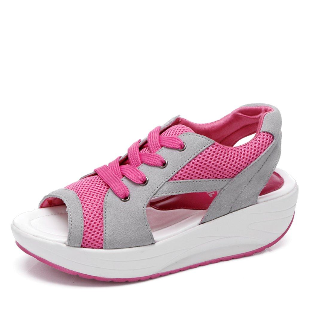 SPEEDEVE Sandalo Sandalo SPEEDEVE Donna Platform Donna SPEEDEVE Lacci Sandalo con   5473a0