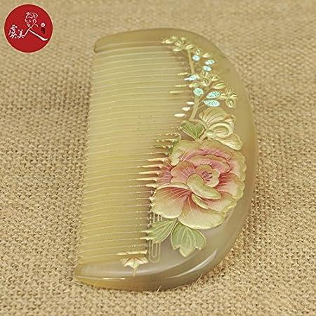 Likeit Laca arte flor cuerno peine letras regalo para enviar ...