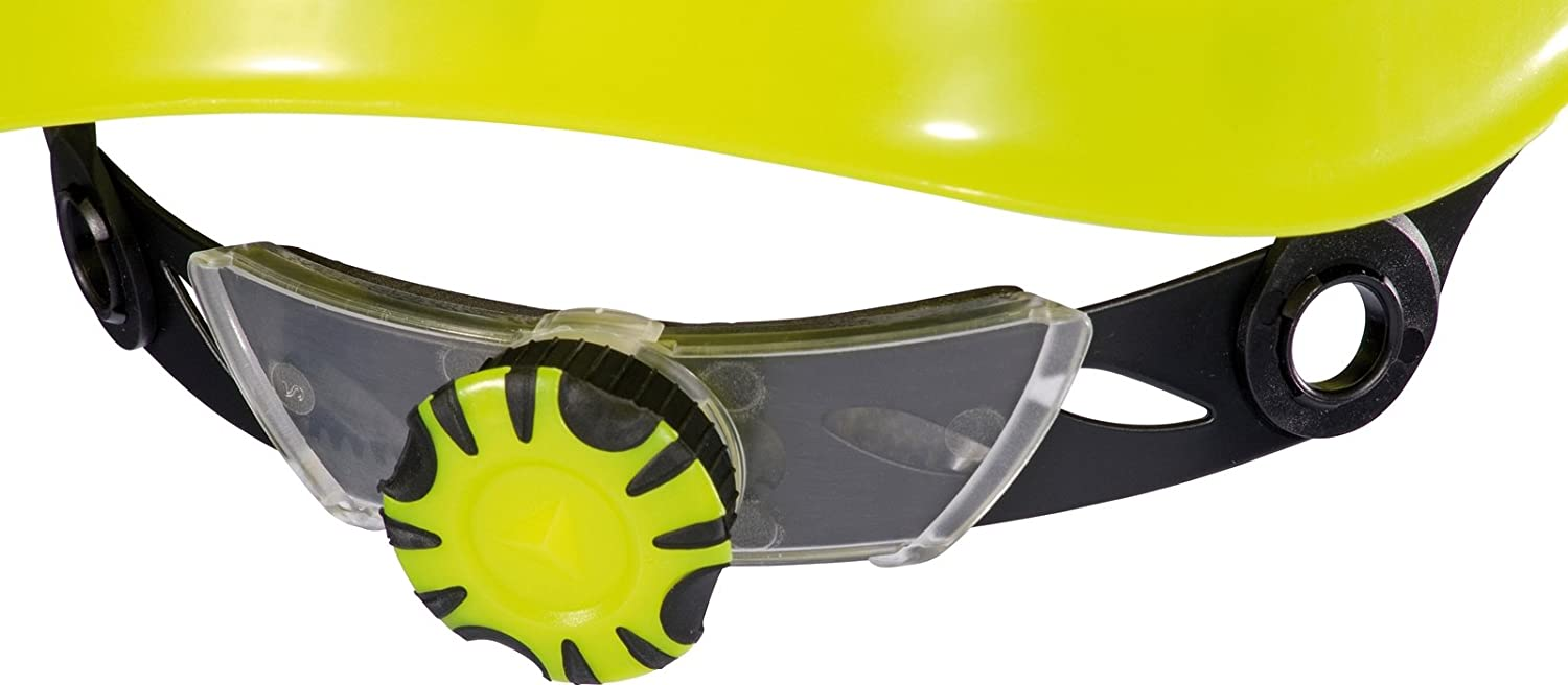 Delta plus - Casco obra granite peak amarillo fluo con aislante: Amazon.es: Amazon.es