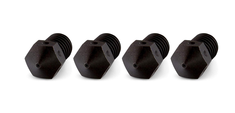 Schwarz geh/ärtet in acciaio temprato 1 PrimaCreator RepRap M6 1,75 mm 3 mm 0,2 mm