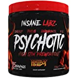 Insane Labz Hellboy Edition, High Stimulant Pre Workout Powder and NO Booster with Beta Alanine, L Citrulline, and Caffeine,