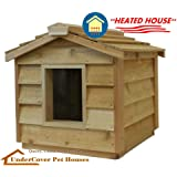 Amazon.com : Extra Large Solid Wood Dog Houses - Suits Two