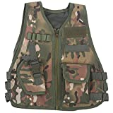 Children Combat Vest, Camouflage with Multi Pocket for Outdoor Hunting Game
