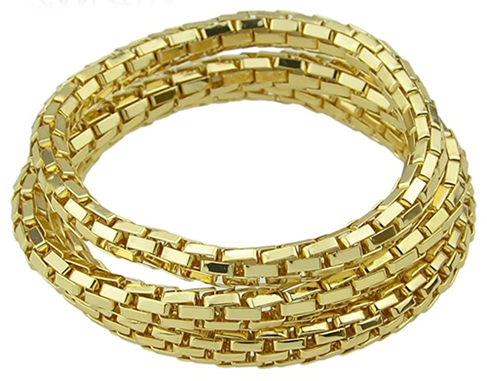 Jewelry Gold Silver Bronze Color Three Pieces Sets AmaranTeen