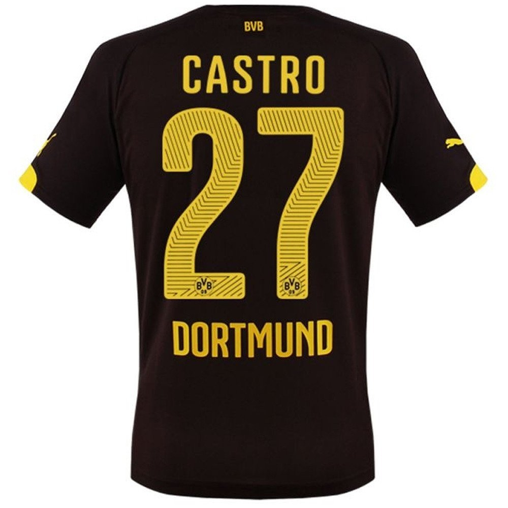 BVB Dortmund Home Trikot 2015 16 - CASTRO, Kinder
