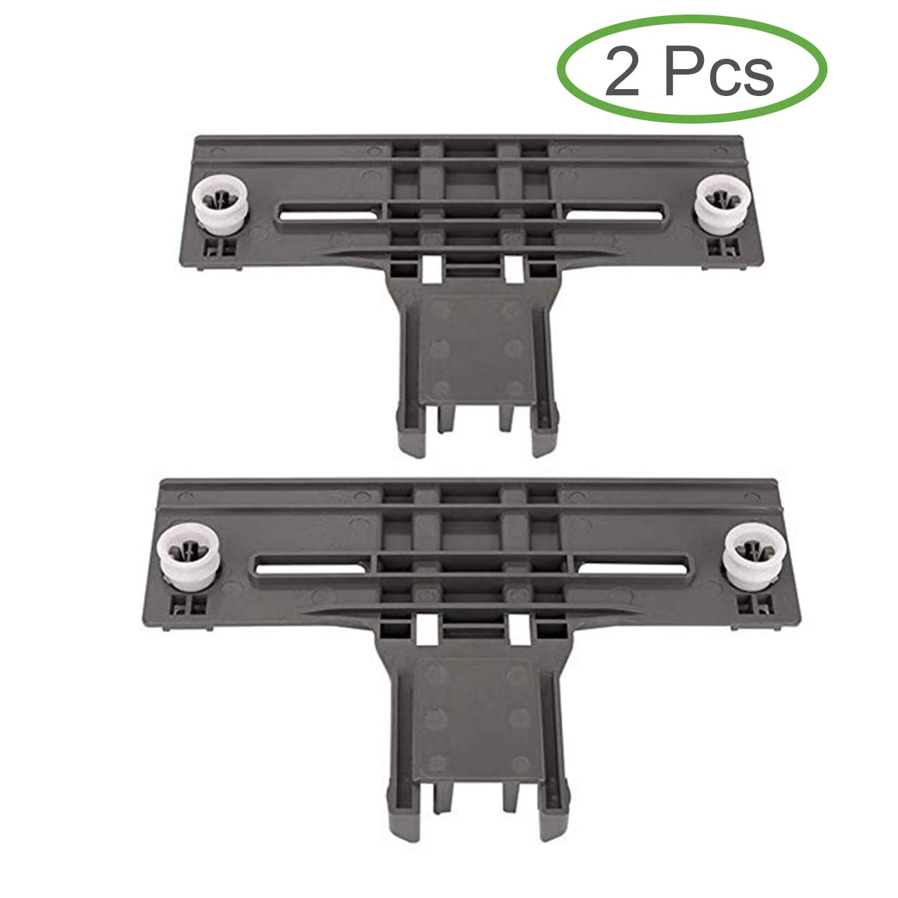 W10350376 Dishwasher Upper Top Rack Adjuster Replacement part for Kenmore Kitchenaid Sears W10712394 AP5272176 PS3497383(Pack of 2)