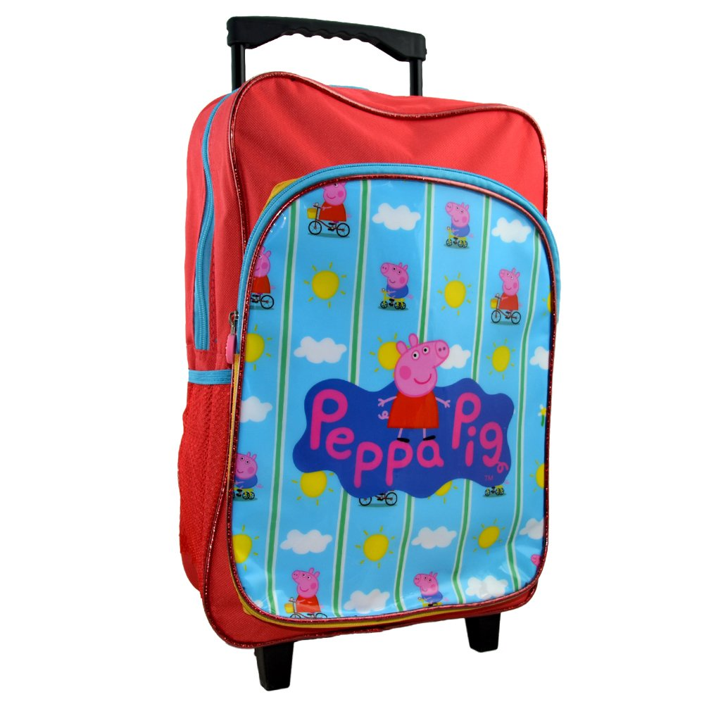 Peppa Pig CAT-DLC-02 Deluxe - Carro de Viaje con Mochila (40 cm): Amazon.es: Juguetes y juegos