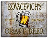 KOVACEVICH'S Craft Beer Stretched Canvas Sign - 24