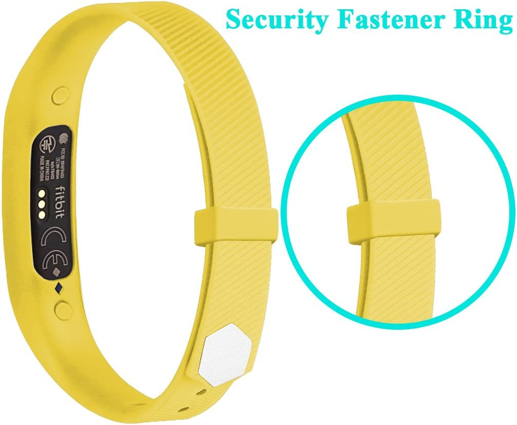 Adjustable Wristband Small Large RedTaro Bands Compatible with Fitbit Flex 2,Replacement for Flex 2 Sport Accessories Soft Silicone W//Fastener Clasp for Fitbit Flex 2 Watch